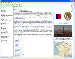 Screenshot Kiwix