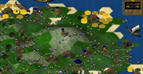 Screenshot Widelands