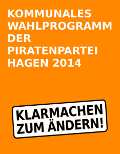 Cover Wahlprogramm 2014
