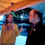 Volker Huhn (#2 BV Hagen-Mitte) und Benjamin Stemmer (#2 Stadtrat)