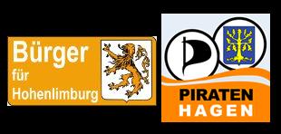 Bürger für Hohenlimburg und Piratenpartei Hagen